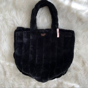 Victoria Secret Fuzzy Tote Bag